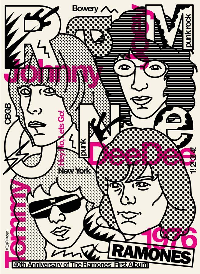 Andrzej Wieteszka - 40th Anniversary of The Ramones' First
