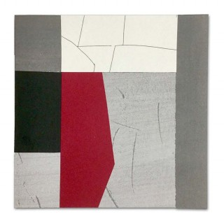 Gene Johnson, Black, red, grey, line