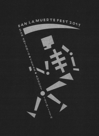 Jonathan Sirit, T-shirt design for San La Muerte Fest Aug. 2017