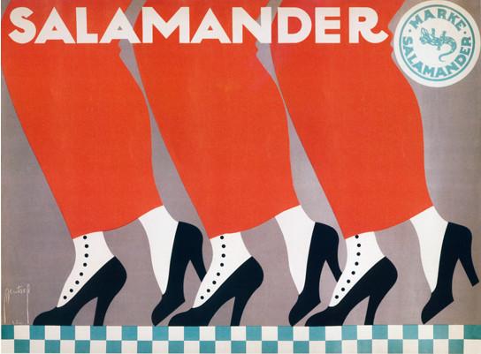 """poster - Ernst Deutsch-Dryden, """"Salamander"""""""