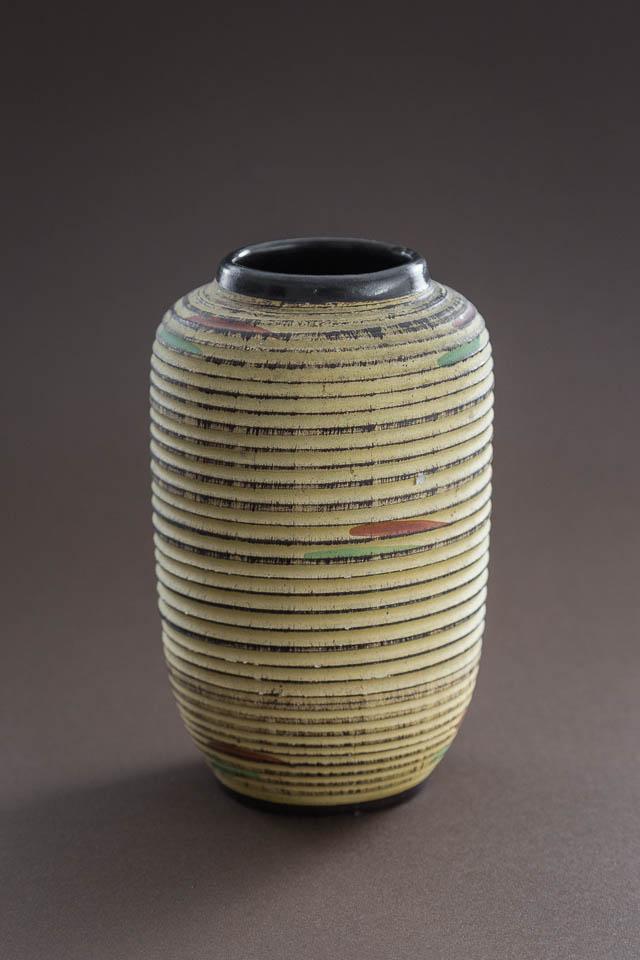 r?cznie formowany dzbanek ceramiczny ? Niemcy, lata 60.