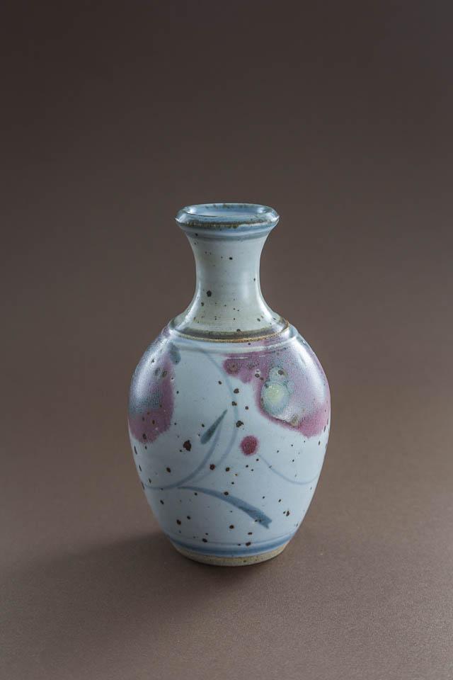 unikatowy, r?cznie malowany, ceramiczny wazonik
