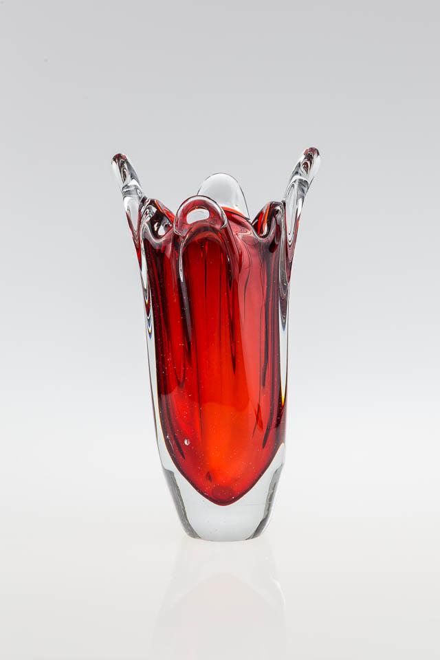 szk?o artystyczne ? wazon z kolorowego szk?a