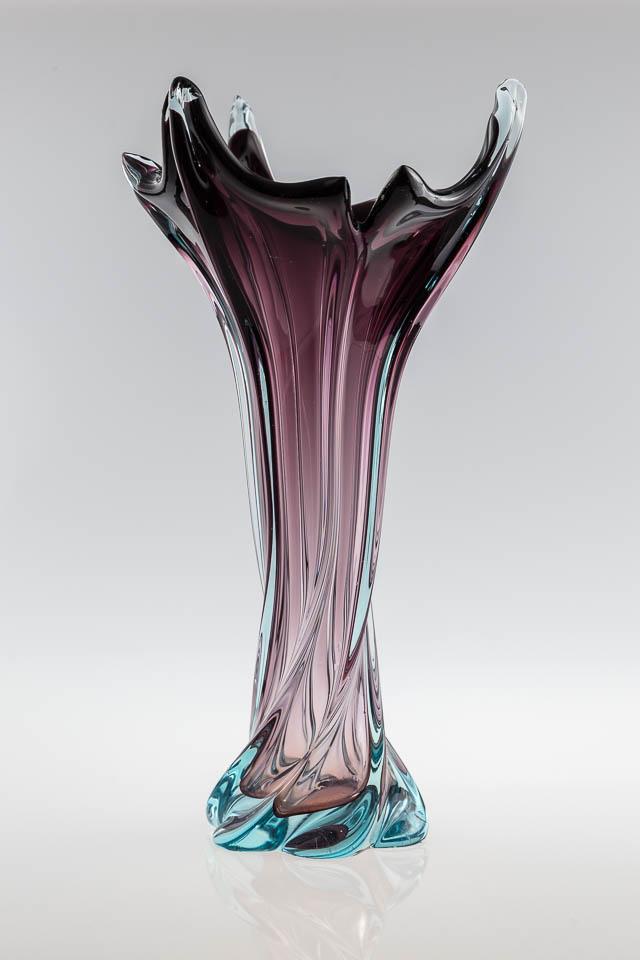 wazon ? r?cznie formowane szk?o w stylu Murano