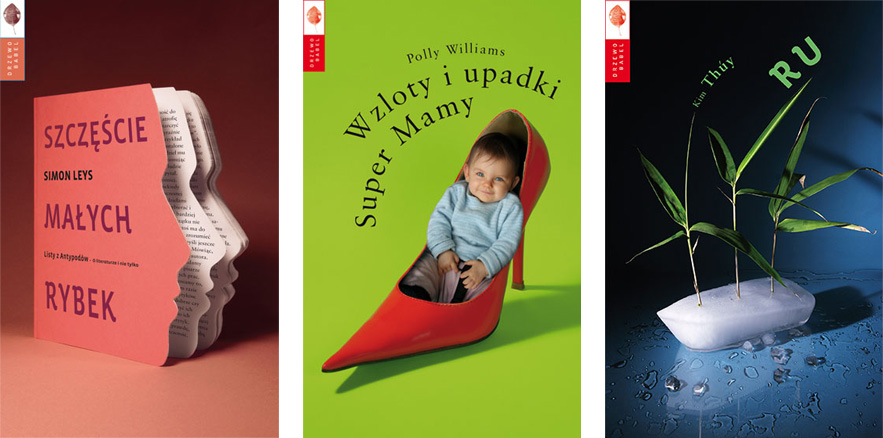 Michał Batory - cover designs
