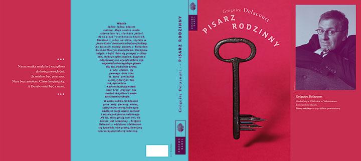 """Michał Batory - cover for """"Pisarz rodzinny"""" (source: www.michalbatory.com)"""