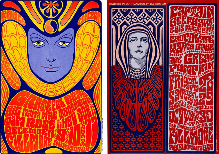 Wes Wilson - plakaty
