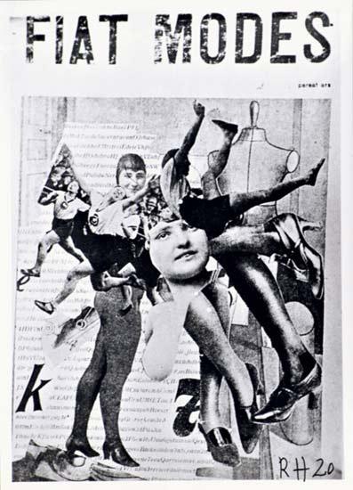 Raoul Hausmann, Fiat Modes, 1920, photomontage