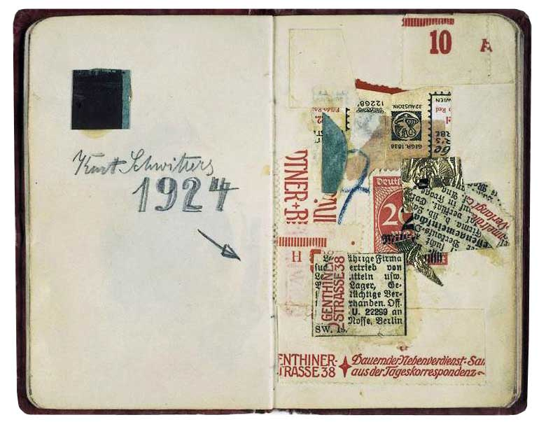 Schwitters-notebook