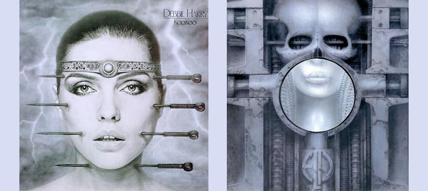 HR Giger, Debbie Harry