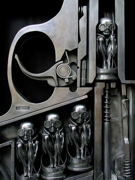 H. R. Giger - Birth Machine