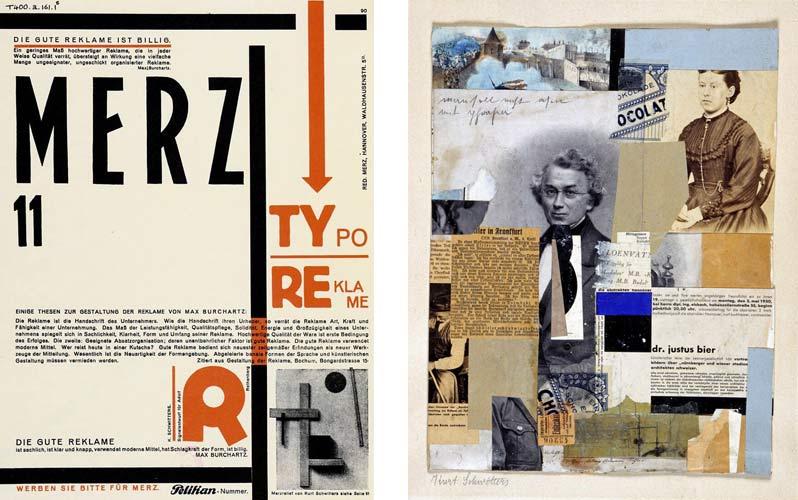 Kurt Schwitters & El Lissitzky