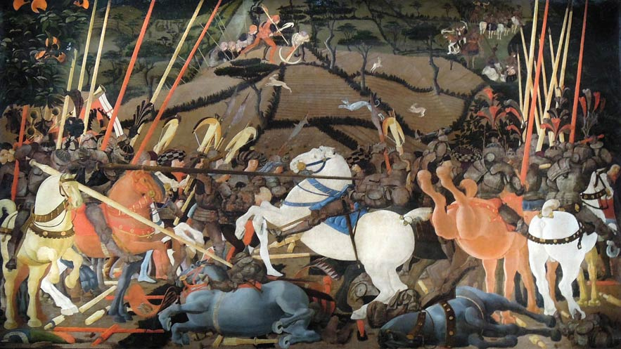 Paolo Ucello - The Battle of San Romano