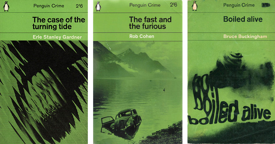 The green crime series by Romek Marber