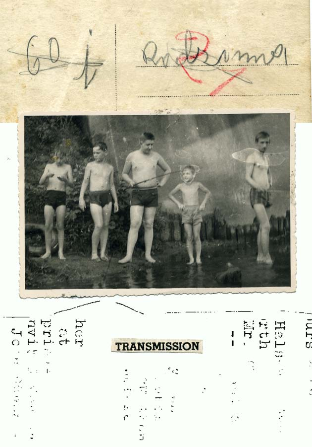 Anna Klos, Transmission, collage