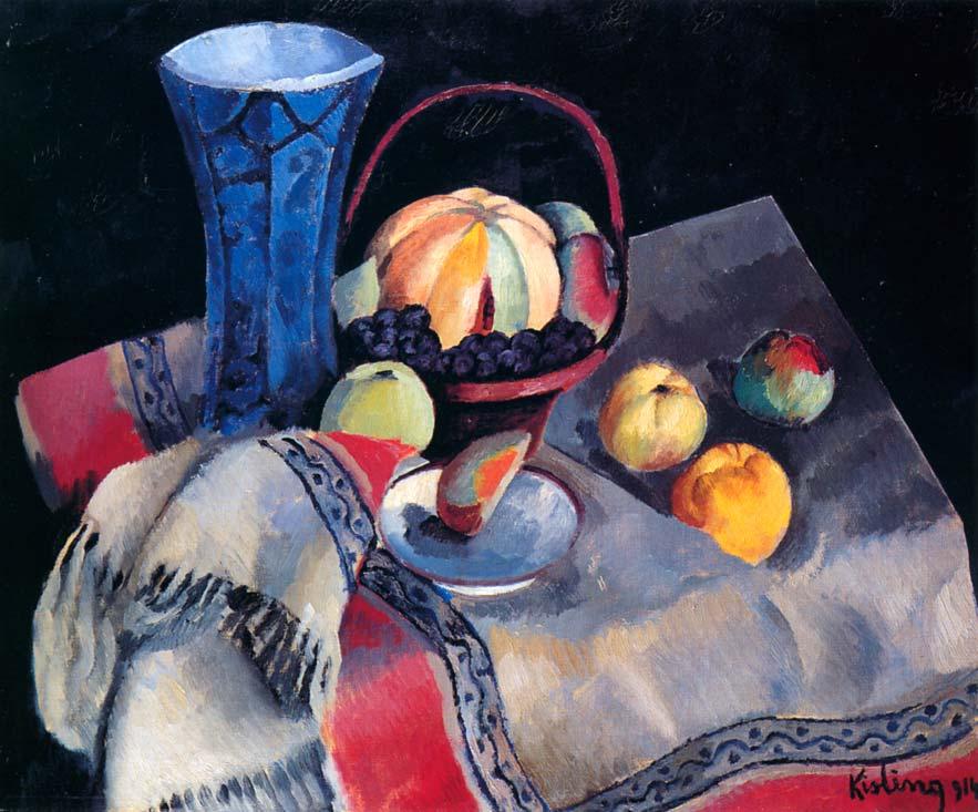 Still-life with a Blue Vase, 1914