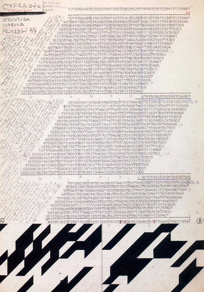 Jerzy Grabowski – Digital Structure of Progress 7/7. Study III