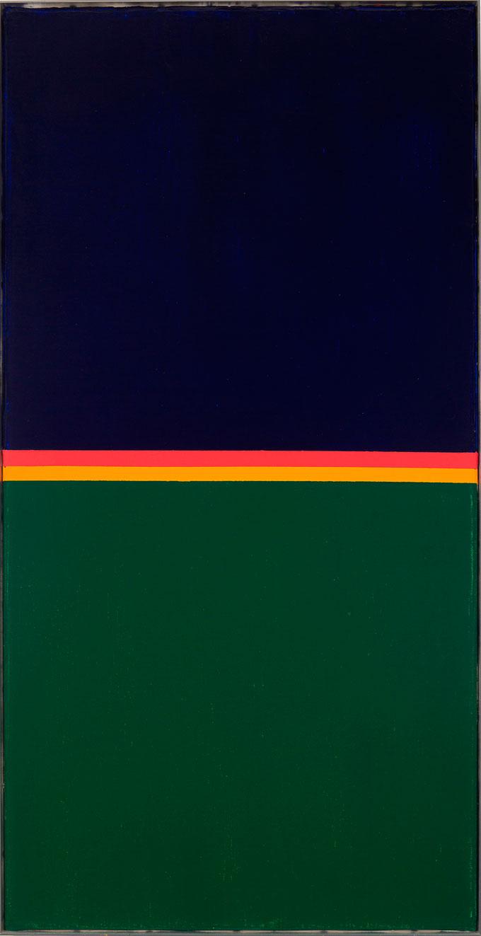 Max Bill – Kondensation Von Komplementar Faben, 1969