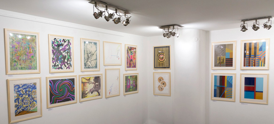 Abstraction and contemporary painting in Peru – exhibition at the Korekta Gallery, Warsaw