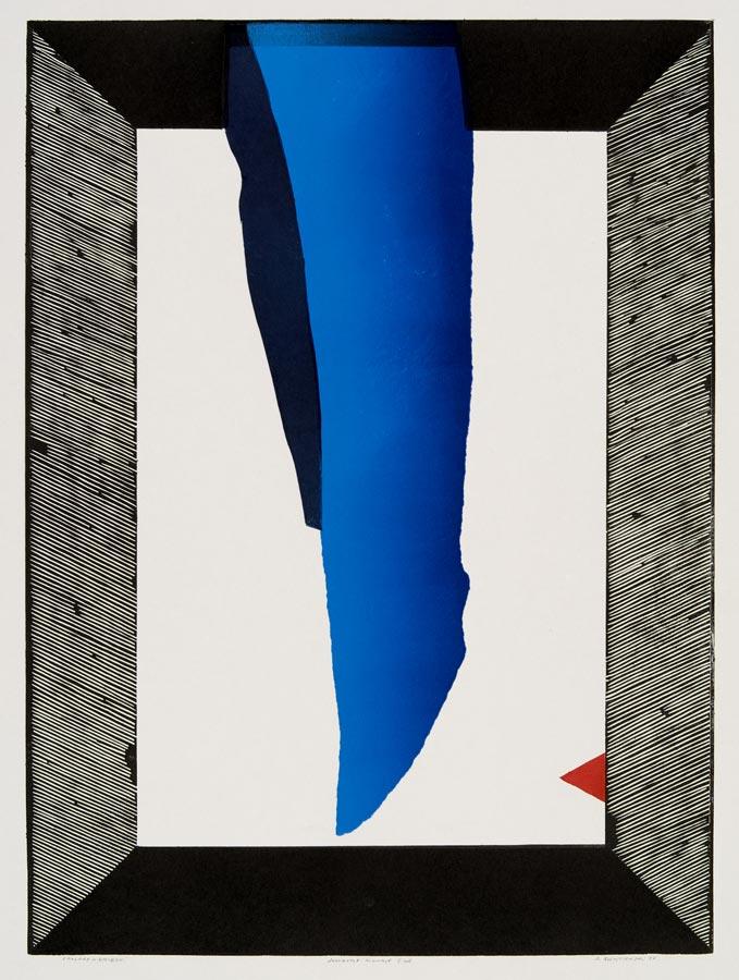 Ryszard Gieryszewski - 3 kolory - niebieski, 1979