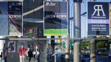 Malarstwo, grafika, plakat – druga wystawa w Galerii Retroavangarda Jerozolimskie Business Park