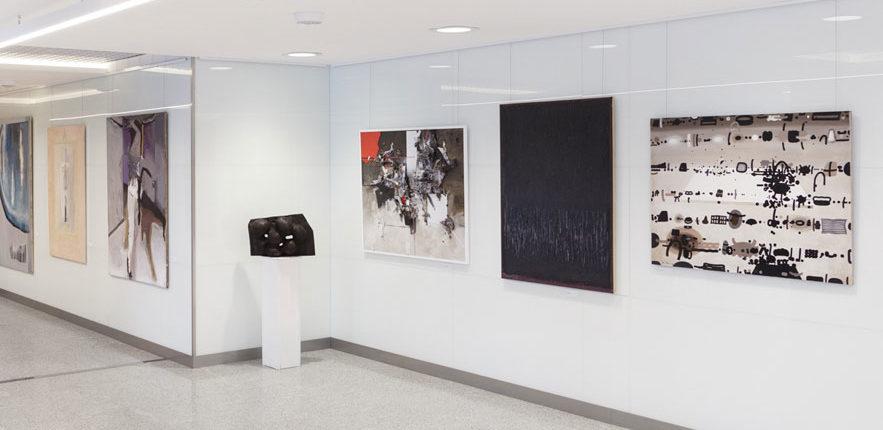 The collection of Retroavangarda and Korekta Gallery – exhibition. Warsaw By Art