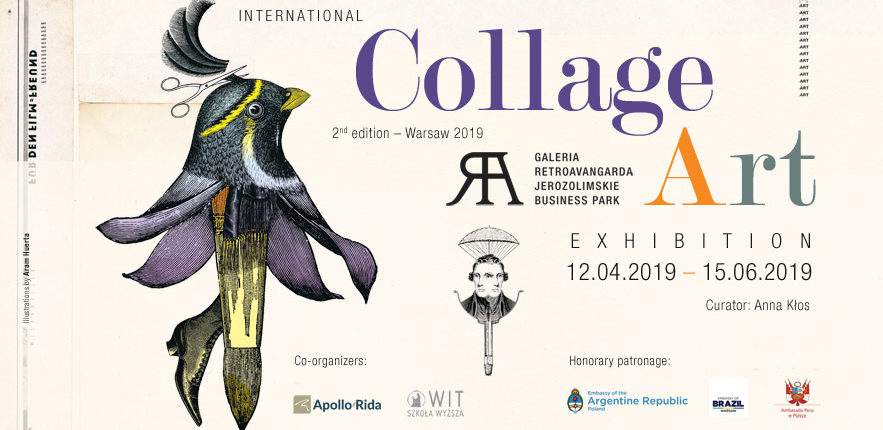 International Collage Art Exhibition in Poland Retroavangarda Gallery, Warsaw