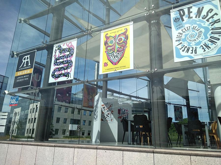 Exhibition - Ecuador Poster Bienal - Poland, Warsaw JBP