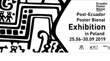 Ecuador Poster Bienal in Retroavangarda Gallery